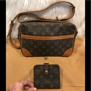 Louis Vuitton Trocadero 23 & Louis Vuitton Wallet